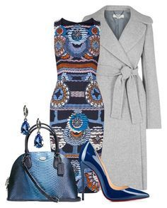 Peter Pilotto Dress by arjanadesign on Polyvore featuring мода, Peter Pilotto, STELLA McCARTNEY, Christian Louboutin, Coach, Givenchy, women's clothing, women's fashion, women and female