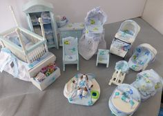 Miniature Dolls House Nursery