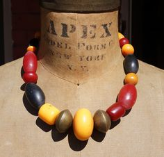 african amber necklace by Funky Frog