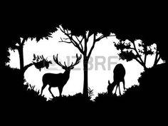 Animal de la fauna (ciervos)
