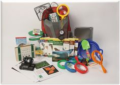 Field Trip Pack on loan to Kaskaskia College Library from Illinois Department of Natural Resources