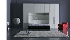 Modern Teen Room Designs by Pianca-I WISH my room was even HALF the size of that! Dang, lucky kid!
