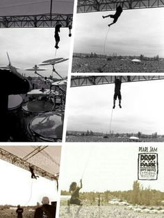 1992 Pearl Jam flying Ed