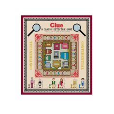 HALF OFF PATTERNS Sale Clue Board Game Cross by PlatoSquirrel