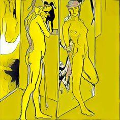 boceto en el taller de Consuelo by PVillegas