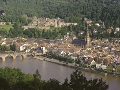 Philosophenweg- How I miss this place! Great hike in Heidelberg with a view of the castle.