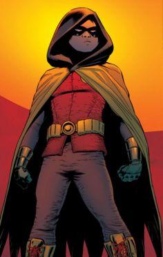 Robin looks bad ass