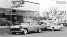 @1 Used Car Lots, Used Cars, Retro Cars, Vintage Cars, New Car Smell, Cities, Auto Dealerships, Plymouth, Mopar