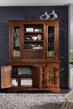 Buffet der Möbelserie OXFORD aus Akazie - Massivmoebel24