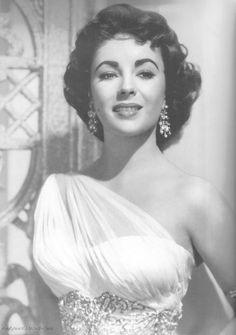 "Elizabeth during the filming of ""Elephant Walk"" (1954)."