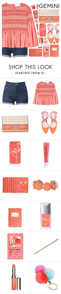 """""""""""What's Your Style Horoscope? - Contest"""" by arierrefatir on Polyvore featuring See by Chloé, Melie Bianco, Zara, Kate Spade, Aéropostale, Rodial, Vince Camuto, Madewell, Christian Dior and H&M"""