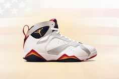 "Air Jordan VII ""Olympic"" Retro"