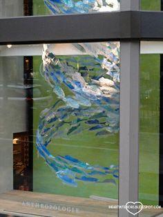 i heart interiors: Anthropologie Window Display - Under the Sea