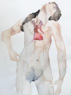 Papír, akril, akvarell, 14,8x21cm Painting, Art, Art Background, Painting Art, Kunst, Paintings, Performing Arts, Painted Canvas, Drawings