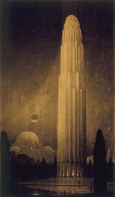 Hugh Ferris, The city of tomorrow 3