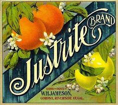 Corona Riverside County Minerva #2 Orange Citrus Crate Label Vintage Art Print