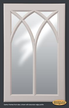 Cabinets: Showplace Gothic Mullion doors