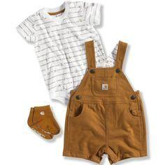 Carhartt Baby Boys' 3-Piece Overall