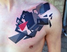 Top 80 Best Abstract Tattoos For Men - Artistic Designs