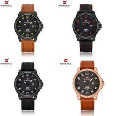 Naviforce 3D Face Clock male Army military sports watch Men's gift Watch relojes hombre 2017 Watches Men Quartz Analog reloj