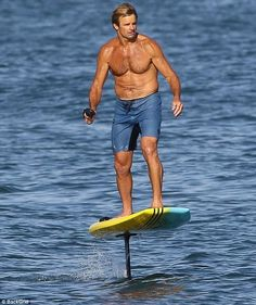 On trend: Laird Hamilton is one of the best big-wave surfers in the world. And on Wednesda. Big Waves, Surfers, Hamilton, Workout, Fitness, Men, Surf Girls, Work Outs, Keep Fit