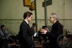 *NEW* BTS pics of Robert Pattinson... on the Cosmopolis set...