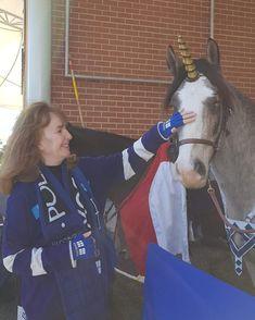 Today my Mum met a unicorn so adorable 😍✨🦄💛💙💜❤🌈⚡ #supanova #sydnova #supanova2018 #cosplay #cosplaygirl #unicorn #magical #beautiful #pet…