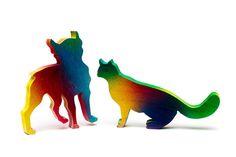 831-CAT AND DOGArtAnimal PrintsNursery by EricksonPhoto on Etsy