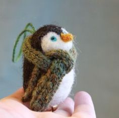Penguin Ornament by Fiber Friends