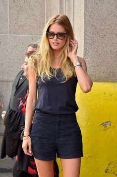 Model off duty on Pinterest | Doutzen Kroes, Candice Swanepoel and ...