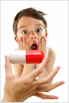 How to teach a child to swallow a pill, I needed this about a month ago!!