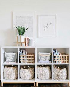 13 best basket shelves images organizers diy ideas for home good rh pinterest com