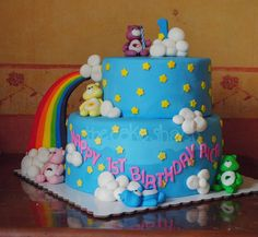 Care Bears Cake by The Cake Shack (Philippines)