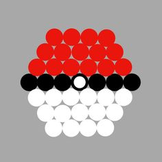 Pokemon Pokeball Pull-Apart Cupcake Cake Template