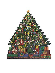 Fortnum and Mason - Christmas Tree - Wooden Advent Calendar Wood Advent Calendar, Chocolate Advent Calendar, Christmas Tree Advent Calendar, Advent Calenders, Holiday Calendar, Wooden Christmas Trees, Christmas Countdown, Christmas Tree Decorations, Christmas Ornaments