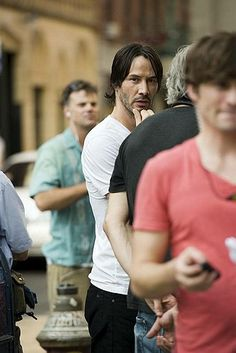 Keanu filming Generation Um … in the streets of NYC
