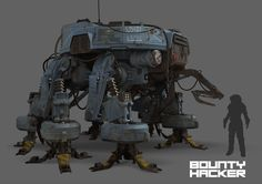 Bounty Hacker - Machine Concept, Nick Carver on ArtStation at http://www.artstation.com/artwork/bounty-hacker-machine-concept-dff758f9-a516-49f0-b8bd-fdd47e38cc35