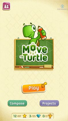 Move The Turtle. Programming For Kids by Next is Great