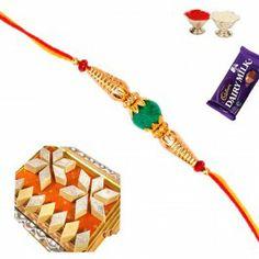 Send #Indian #Sweet Badam Katli with #Rakhi and #Shagun at http://www.rakhistoreonline.com/rakhi-with-sweets/badam-katli-with-rakhi-and-shagun.html
