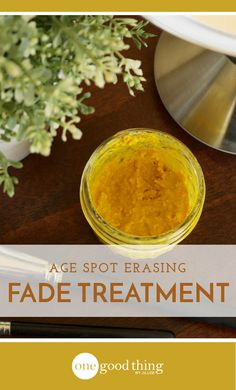 This natural remedy can help you erase age spots and sun spots from your skin over time. It's easy to make, and it's all-natural, too!