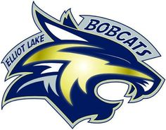 Elliot Lake Bobcats Primary Logo (2008) -