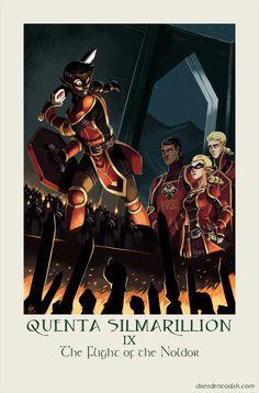 Silmarillion Chapter 9: The Flight of the Noldor