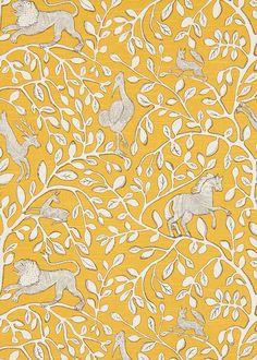 Tissu coton Pantheon Dandelion (Robert Allen).