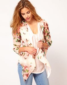 Rare Butterfly Cape Jacket