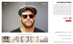 """Download Photoshop Actions """"The Essentials 15"""" at: http://www.lookfilter.com"""