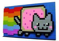 16 Nyan Cat Creations  #memes #internet #nyancat