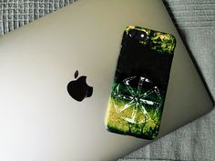 'Triglav, the symbol of Slavic Tree-Headed God (dark swamps)' iPhone Case by WearGraphics Pagan Symbols, Apple Tv, Wicca, Iphone 11, Macbook, Gadgets, Phone Cases, Ink