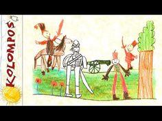 Kolompos együttes - Nagy Z.: Jó reggelt! (Jönnek a huszárok) Camera Phone, Reggio, Moose Art, School, Music, Youtube, Animals, Animales, Animaux