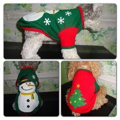 Christmas outfit!! Traje de Navidad!!