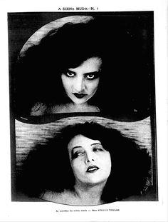 ESTELLE TAYLOR - (A SCENA MUDA, March 31, 1921, Rio de Janeiro, Brazil)